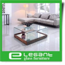 De eenvoudige Vierkante Gebogen Lijst van het Centrum van het Glas met Spiegel
