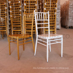 대중음식점 가구 결혼식 금속 철 사건을%s 알루미늄 Chiavari 의자