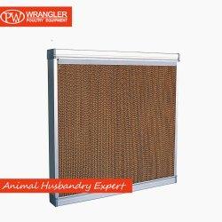 蒸気化冷却のパッド7090のブラウンカラー温室の冷却のパッドシステム