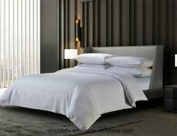 Il cotone 0.4cm dell'hotel 100 ha barrato le lenzuola di lusso reali