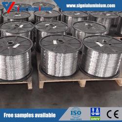 Redonda de aluminio desnudo oxidativo/Rectangular/imán plano cable