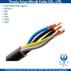 Vuurvaste Kabel van uitstekende kwaliteit Twee van BV de Elektrische Draad van de Kern