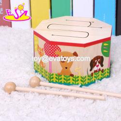 جديدة حارّ [مرش بند] لعب خشبيّة طفلة ثبت طبل مع لون موسيقى [و07ج041]