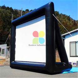 Schermo di proiezione gonfiabile esterno portatile gonfiabile dello schermo di film di vendita calda