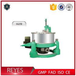 Sgz série Panier centrifugeuse centrifugeuse à flux continu de levures de la machine