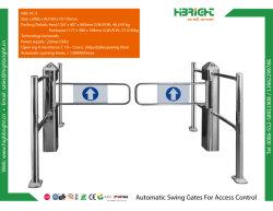 リモート・コントロールパネルが付いている電気センサーのスーパーマーケットの入口のゲートの振動ゲート