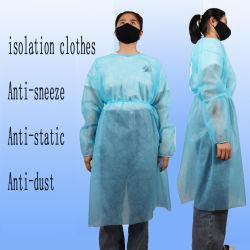 25g PP 비 길쌈된 처분할 수 있는 Gownisolation 가운 새로운 도착 비 살균 격리 의류