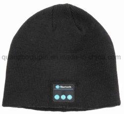 Inverno OEM música Bluetooth sem fio com auricular Beanie Hat