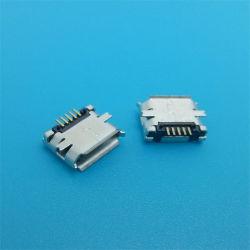 Наиболее востребованных SMT Micro-USB в 5-контактный гнездовой разъем