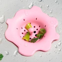 Bujão cozinha personalizada de banho de chuveiro Drainer Dissipador de drenagem no piso de Silicone