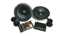 """6.5"""" 2 meilleure façon Sound System Powered Speaker Set pour voitures de l'Orateur Componet Le président X165"""
