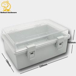 명확한 뚜껑을%s 가진 PCB를 위한 Eco-Friendly IP65 플라스틱 방수 울안 배급 상자