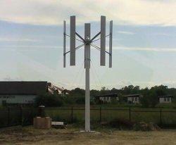 20Kw en la red eléctrica fuera de la Red 3 Fase de la turbina de viento Vertical Dynamo Generator (VAWT) para uso doméstico