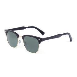 Elegantes Tons Sun o logotipo personalizado Sports óculos de sol em liga de magnésio de alumínio para homens e mulheres