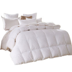 Size 233tc 100%年のCotton王Hotel Duck Down Comforter