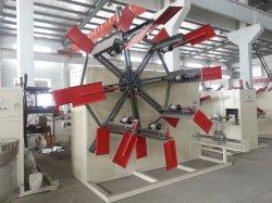 Quatre stations Enrouleur de tuyau de plastique/Coiler de tuyaux en plastique, tube en plastique une/deux/quatre enrouleur de la station de la machine