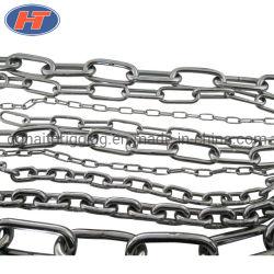 Lien en acier inoxydable chinois la chaîne de levage DIN763 avec la certification ISO pour le matériel de montage