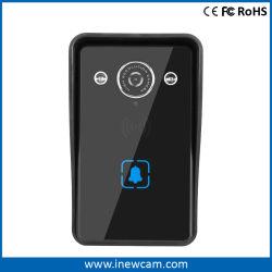 La cámara de vídeo inteligente inalámbrica con detección de movimiento PIR de timbre