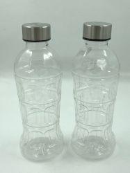 650ml de plastic OpenluchtFles Met hoge capaciteit van het Water van de Reis van de Sport met de Koppen van het Huisdier van PC van het Stro