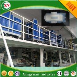機械Quanzhouの製造業者を容易にさせる生理用ナプキンのパッドは動作する
