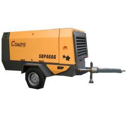 Heavy Duty portátil compresor de aire de tornillo impulsado por diesel