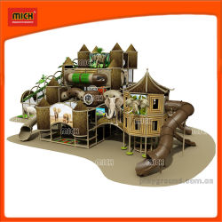 Mich el tubo de plástico Deslice Playground parque de atracciones de interior