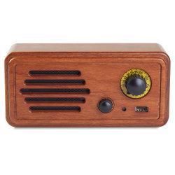 Portáteis Retro Vintage rádios FM de madeira 4.2 Ligação sem fios Bluetooth a melhoria de graves fortes em alto volume de som Surround Premium Stereo Mini Alto-falantes