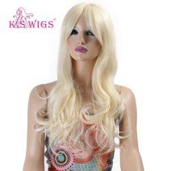 Fibra Kanekalon resistente al calor de las mujeres de cabello sintético pelucas