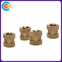 Go/DIN/Stainless-Steel JIS/ANSI/Carbon-Steel mot l'étape de pièces d'estampage à fente du manchon en cuivre fixe