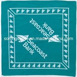 Katoenen van de Druk van de douane Vierkante Sjaal Multifuctional Bandanas
