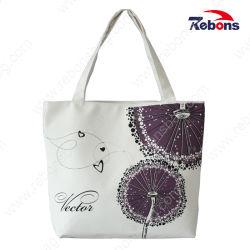 Custom Print хлопка моды Canvas женщина сумки обычную сумку