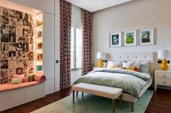 Quarto Clássico Deluxe Suite Rose madeira estofada Mobiliário de quarto de hotel