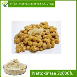 Cápsula de Medicina purificador do sangue Natto Extraia Nattokinase 20000fu