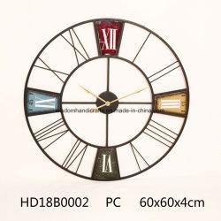 Декоративные деревянные и металлические деревенском Настенные часы для дома