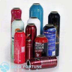 Commerce de gros peut en bombe aérosol cosmétiques en aluminium