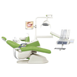 La CE y FDA aprobó el sillón dental integral de la unidad, equipo dental, Dental portátil Precio Unitario (GD-S350)