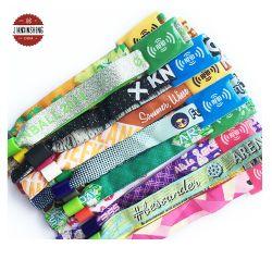 مصنع البيع المباشر مهرجان مخصص منسوج قماش NFC Bracelet RFID أحزمة معصم