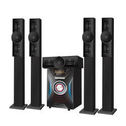 Système Home Cinema 5.1 avec support des satellites Floorstanding tour haut-parleurs colonnes haut-parleur Bluetooth pour la salle de séjour
