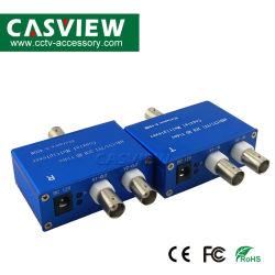2 Mehrfachkoppler CCTV-Übermittler und Empfänger 1pair 2CH Koaxialbis 400m des Kanal-4 in-1 Ahd/Tvi/Cvi/Analog video für Kameras über einem Koaxialkabel-Mehrfachkoppler