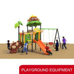 Kindergarten-Spielplatz-Unterhaltungs-Geräten-Vergnügungspark-Schwingen-Set mit Plättchen für Chlidren/Kinder