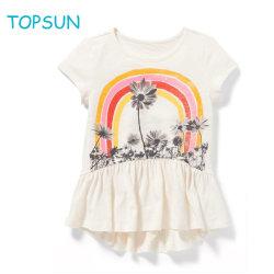 Vestuário de criança para criança, vestido de Verão de algodão Kids Saia Casual mercadorias