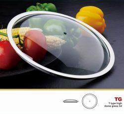 Domo normal Tapa de cristal cubierta de la Sartén utensilios de cocina