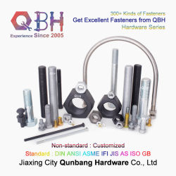 Qbh 標準 DIN ANSI ASME IFI JIS ( ISO GB ) カスタマイズされた非標準丸六角ボルトの価格
