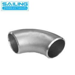 Aço inoxidável TP304 Butt-Welding Ss fábrica de cotovelos