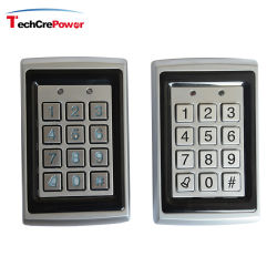 الوصول إلى بطاقة التعريف RFID المعدنية المقاومة للتخريب أو رموز PIN التحكم