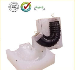 Kundenspezifische Vakuumgußteil-Silikon-Form für Automobil-Lufteinlauf-Rohr