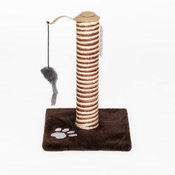おもちゃが付いている簡単で小さい猫の木