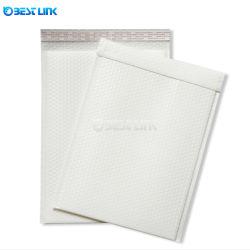 Plain White Film Co-Extrusion Bulle d'enveloppes d'envoi express air étanche rembourrée en poly Courier PE Sacs d'emballage