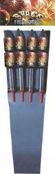 """2 """" razzi dei fuochi d'artificio dello spazio (RO2020)"""