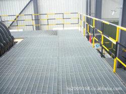 Galvanizados a quente gradeamento fabricada para plataforma de Estrutura de aço